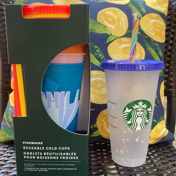 Starbucks Other - Starbucks Summer 2020 Confetti/Cold Cups